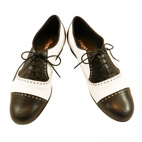 Tango Schuhe Herren Arrabal schwarz/weiß